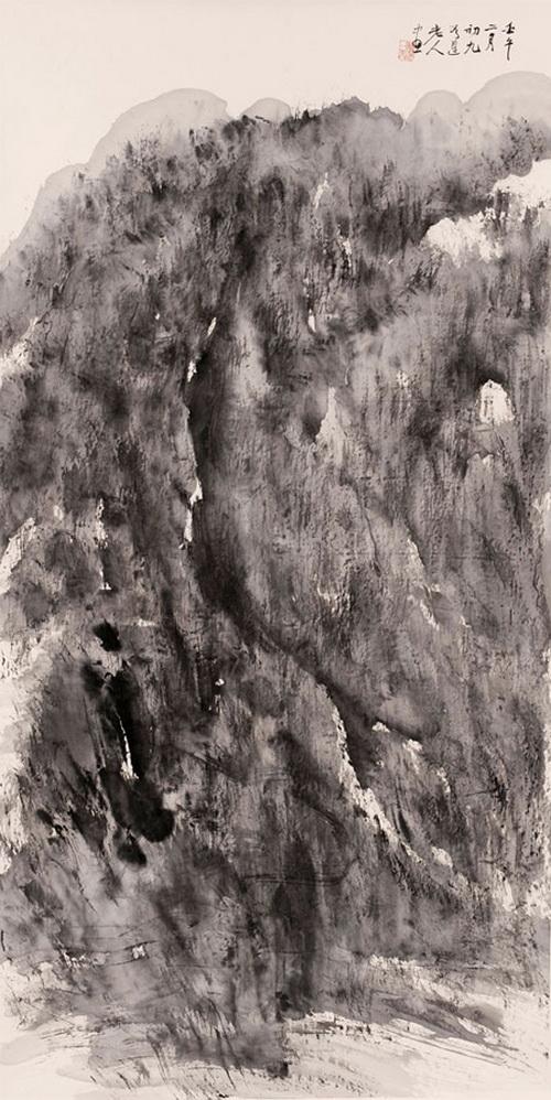 雨后意境画手绘
